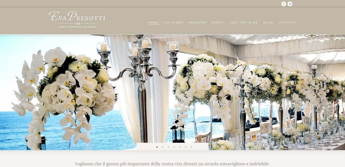 Eva Presutti - Wedding Planner - Slider - 01